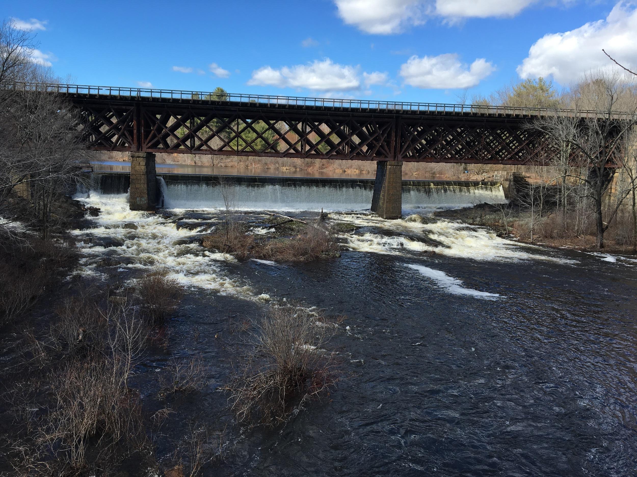 Upper Falls and RR bridge