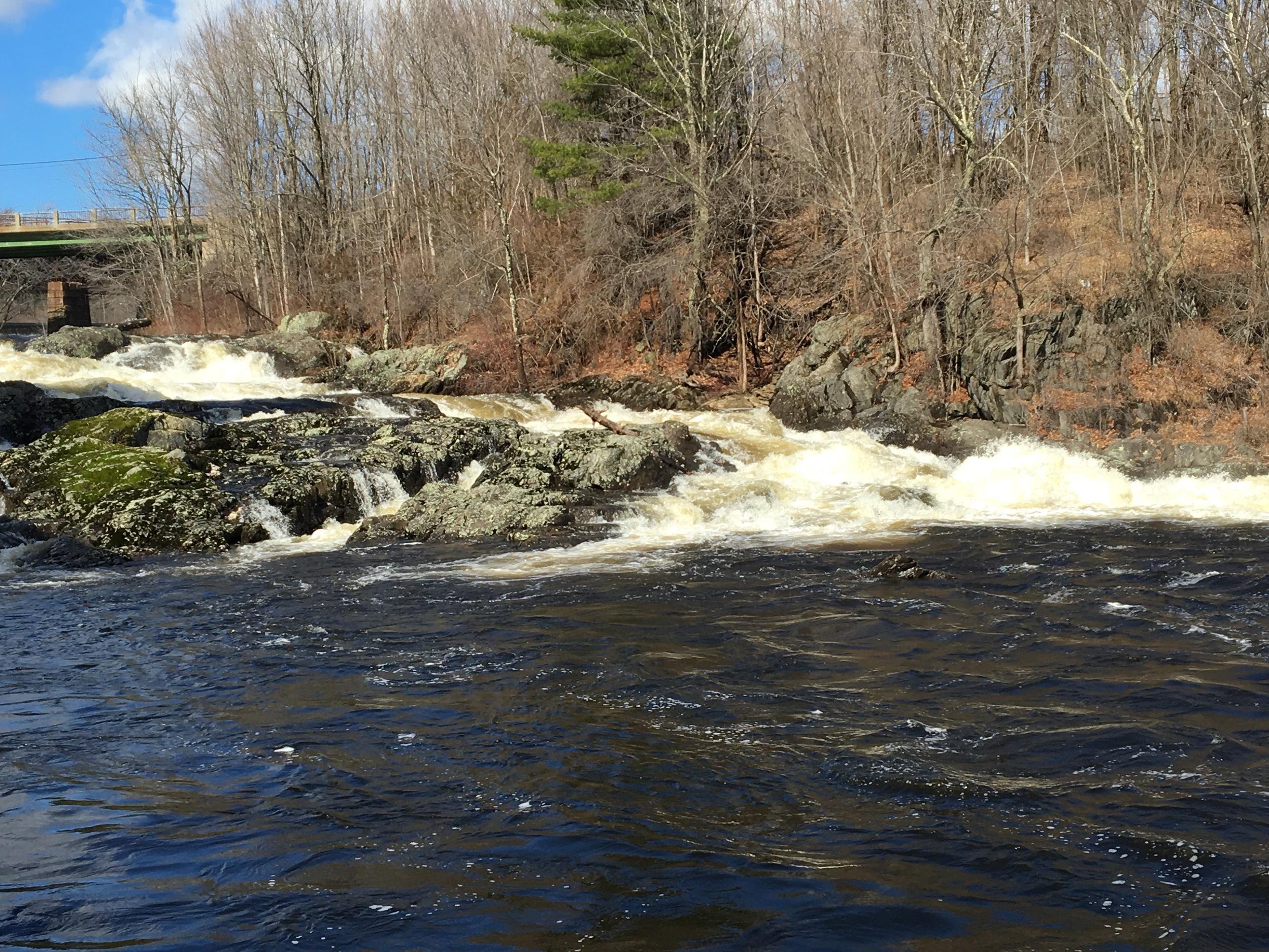 Salmon Falls from Below