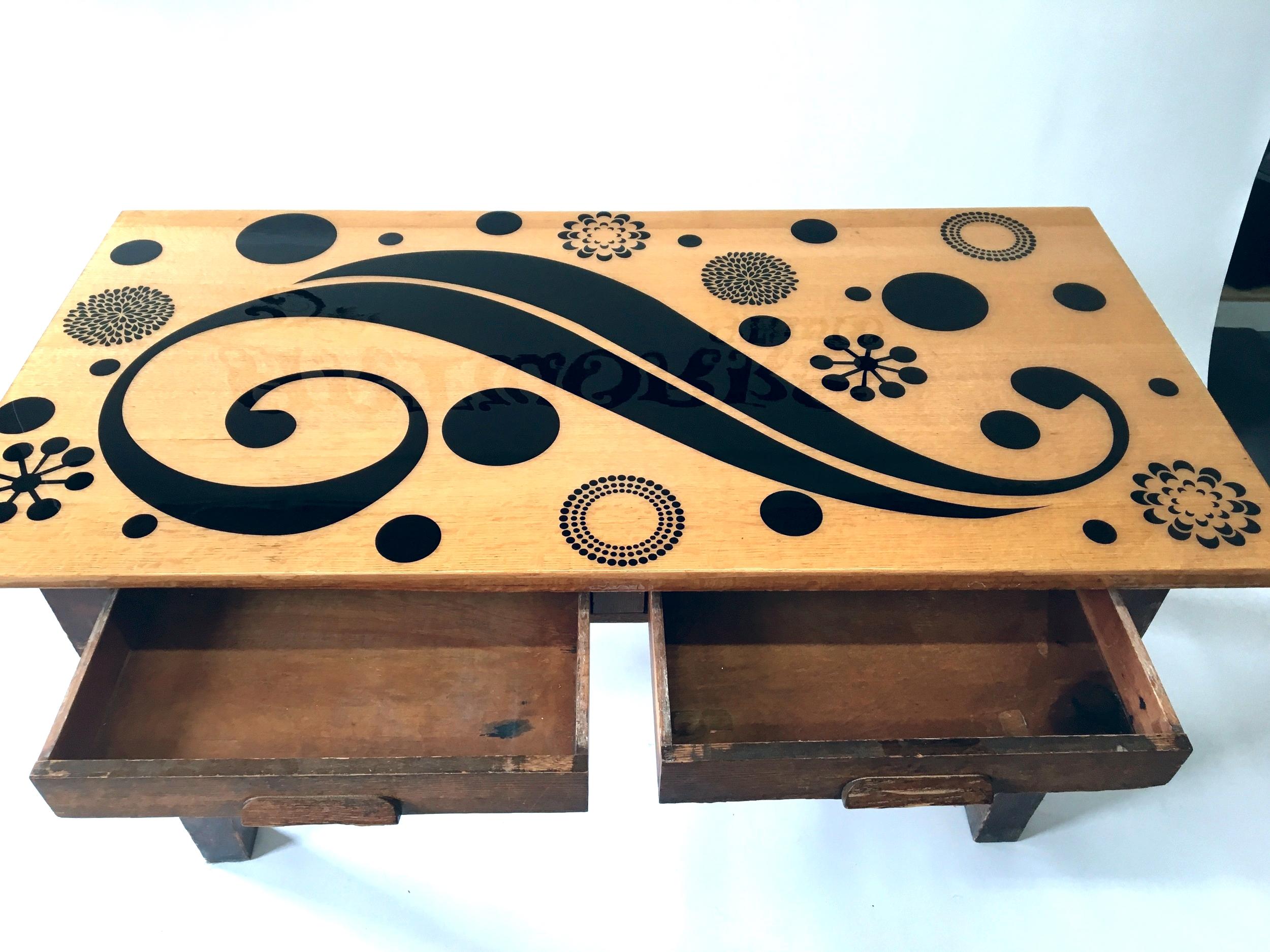 1930's Oak Teacher's Desk $950 (SOLD)