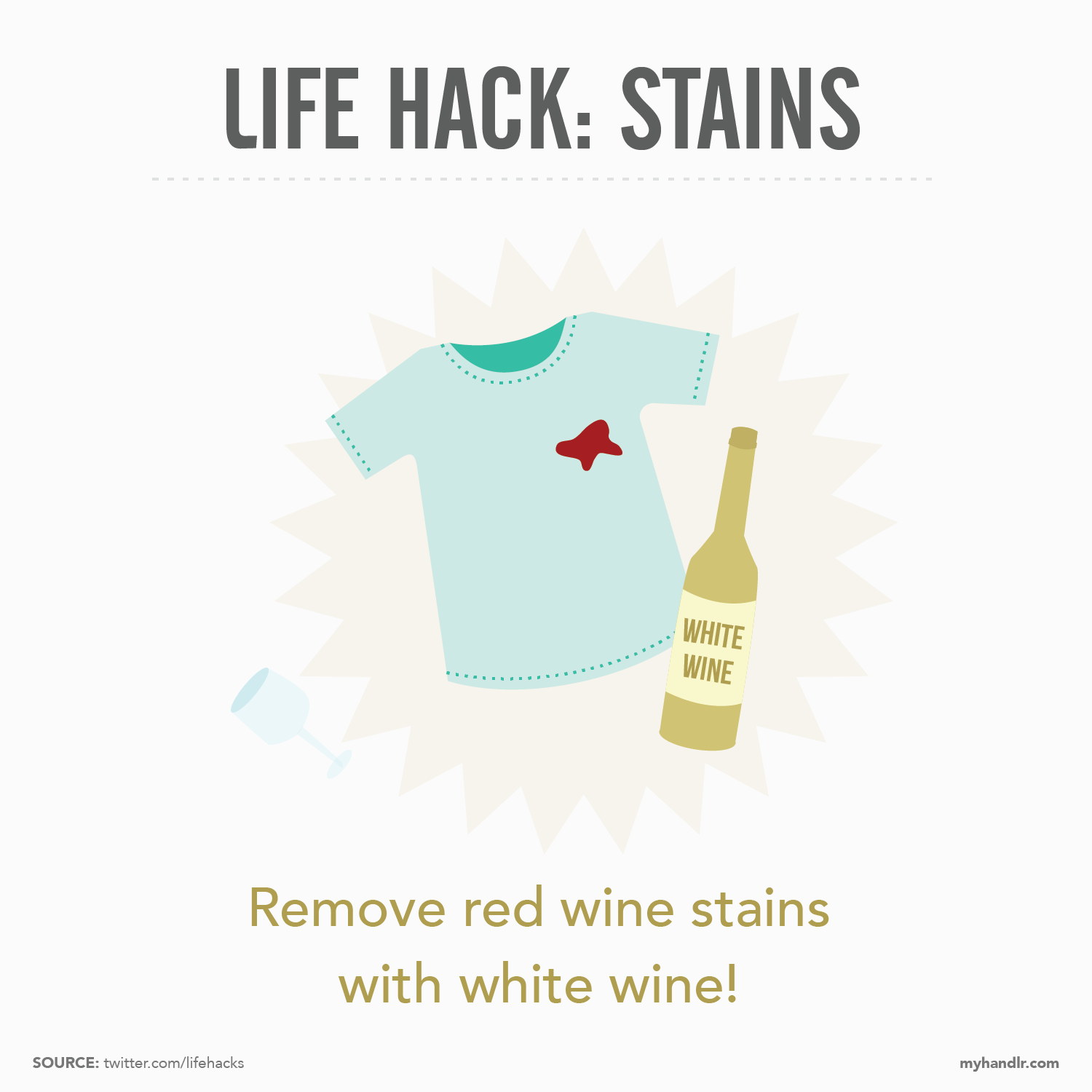 Handlr Life Hack: Stains