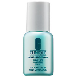CLINIQUE Acne Solutions Acne + Line Correcting Serum deluxe sample  0.24 oz $10.68  Code: CLINACNE Released: 5/10/16   Full Size 1 oz $44.50