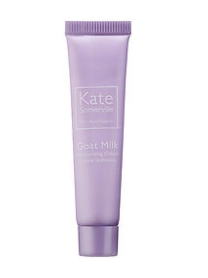 Kate Somerville Goat Milk Moisturizing Cream deluxe sample  0.25 oz $9.56  Code: GOATMILK Released: 5/23/16   Full Size 1.7 oz $65