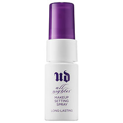 Urban Decay All Nighter Long-Lasting Makeup Setting Spray deluxe sample  0.5 oz $7  Code: HOTBI (choose 2) or HOTVIB (choose 3) Released: 5/26/16   Full Size 1 oz $14