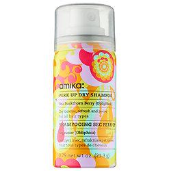 amika Perk Up Dry Shampoo deluxe sample  0.75 oz $3.11 (or $7.50)  Code: HOTBI (choose 2) or HOTVIB (choose 3) Released: 5/26/16   Full Size 5.3 oz $22