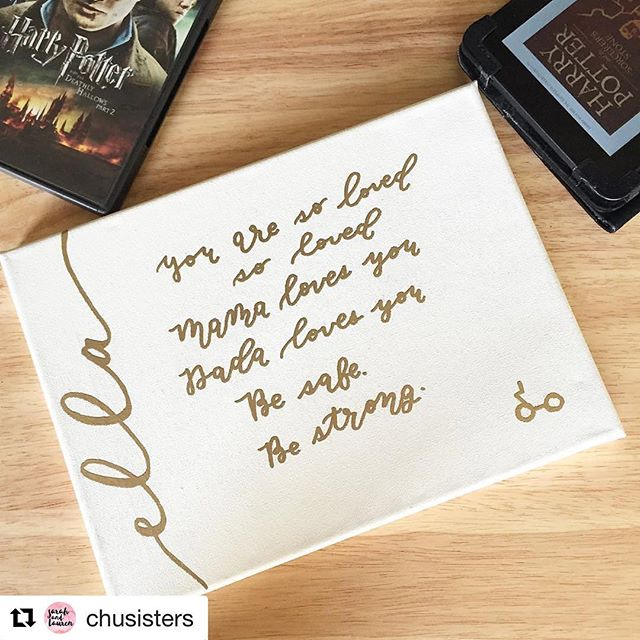 #happybirthdae, Harry! Sharing an oldie but goodie for Harry Potter's birthday: HP inspired nursery art! Link is in our bio!  #Repost @chusisters with @repostapp ・・・ Up on the #youtubechannel today: #HarryPotter inspired nursery art! ⚡️Link in bio! #youtube #youtubers #youtubevideo #hp #lilypotter #deathlyhallows #harrypotterandthedeathlyhallows #emboss #embossing #embossingpowder #art #artwork #harrypotterart #nursery #nurserydecor #artsandcrafts #canvas #harrypotterbirthday #artproject #craft #crafts #crafty #crafter #maker #calligraphy
