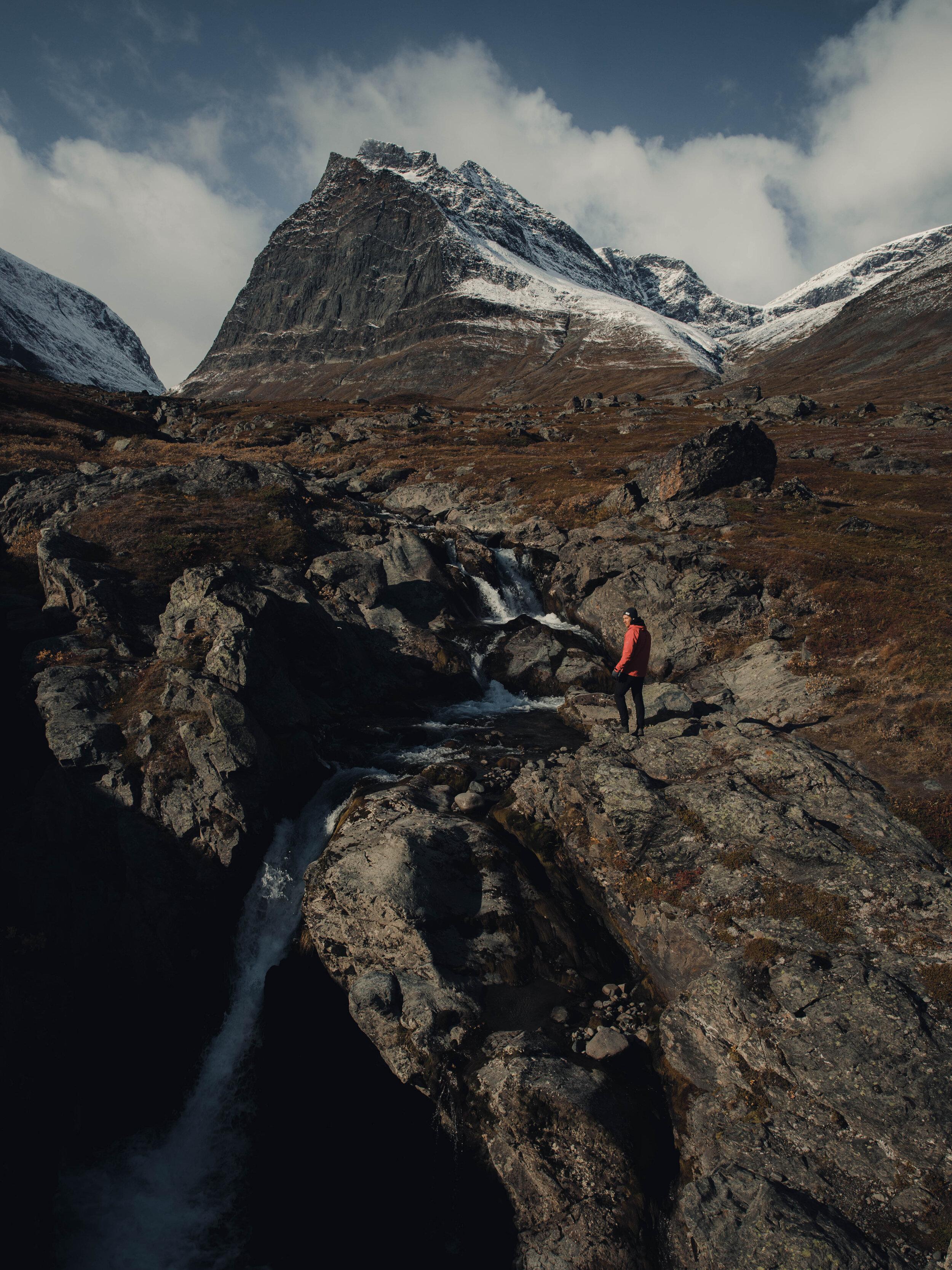Mount Tuolpagorni with its cauldron-like looking summit.