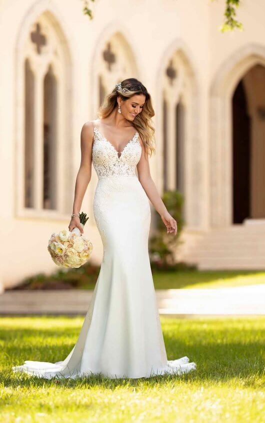{Try this gown on at Something Blue Bridal}