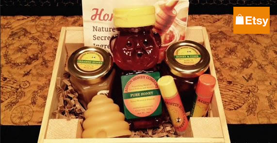 Austin Honey Company in Etsy Store