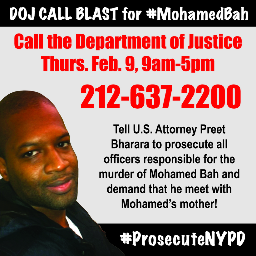 Call to Action: Call the DOJ And ask for a Full Federal Investigation!