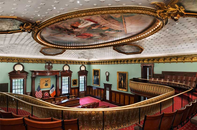 Chambers of the New York City Council