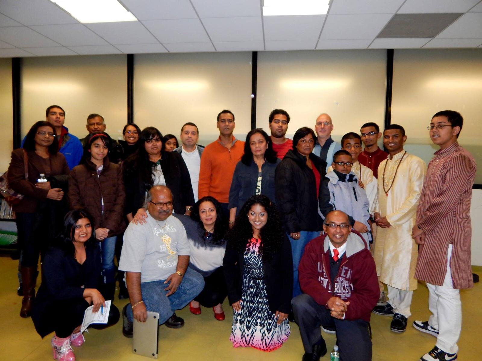 "At a Sadhana ""Healthy Relationships"" workshop in 2014"
