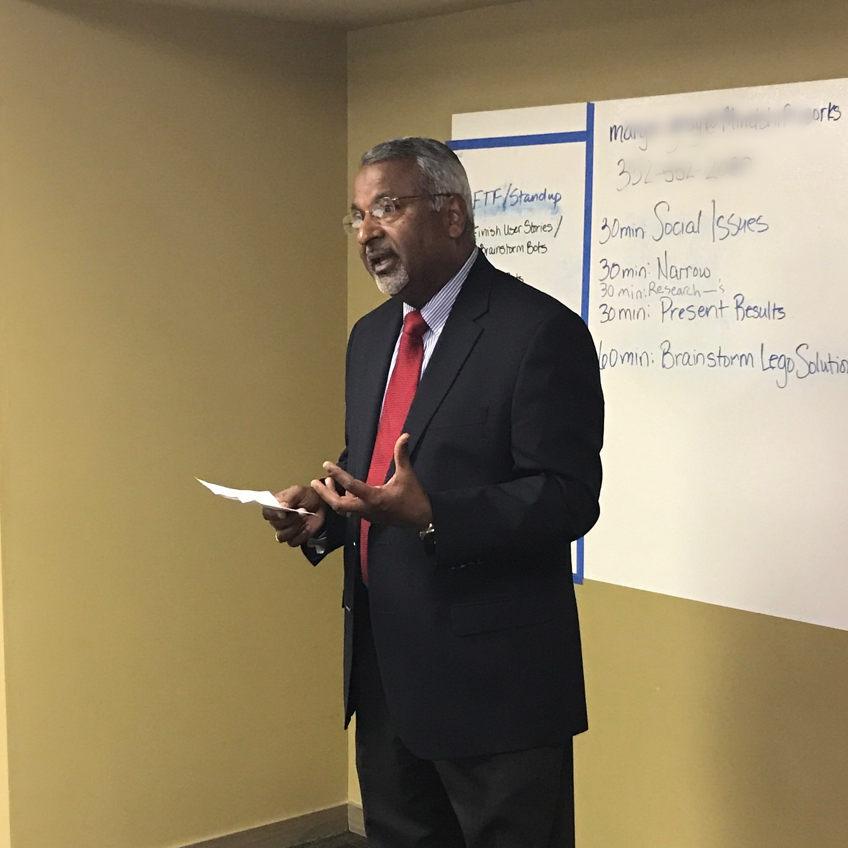 Thrivent board member Prakash Mathew shares how he got involved with Mind Shift and why he is proud to support the idea!