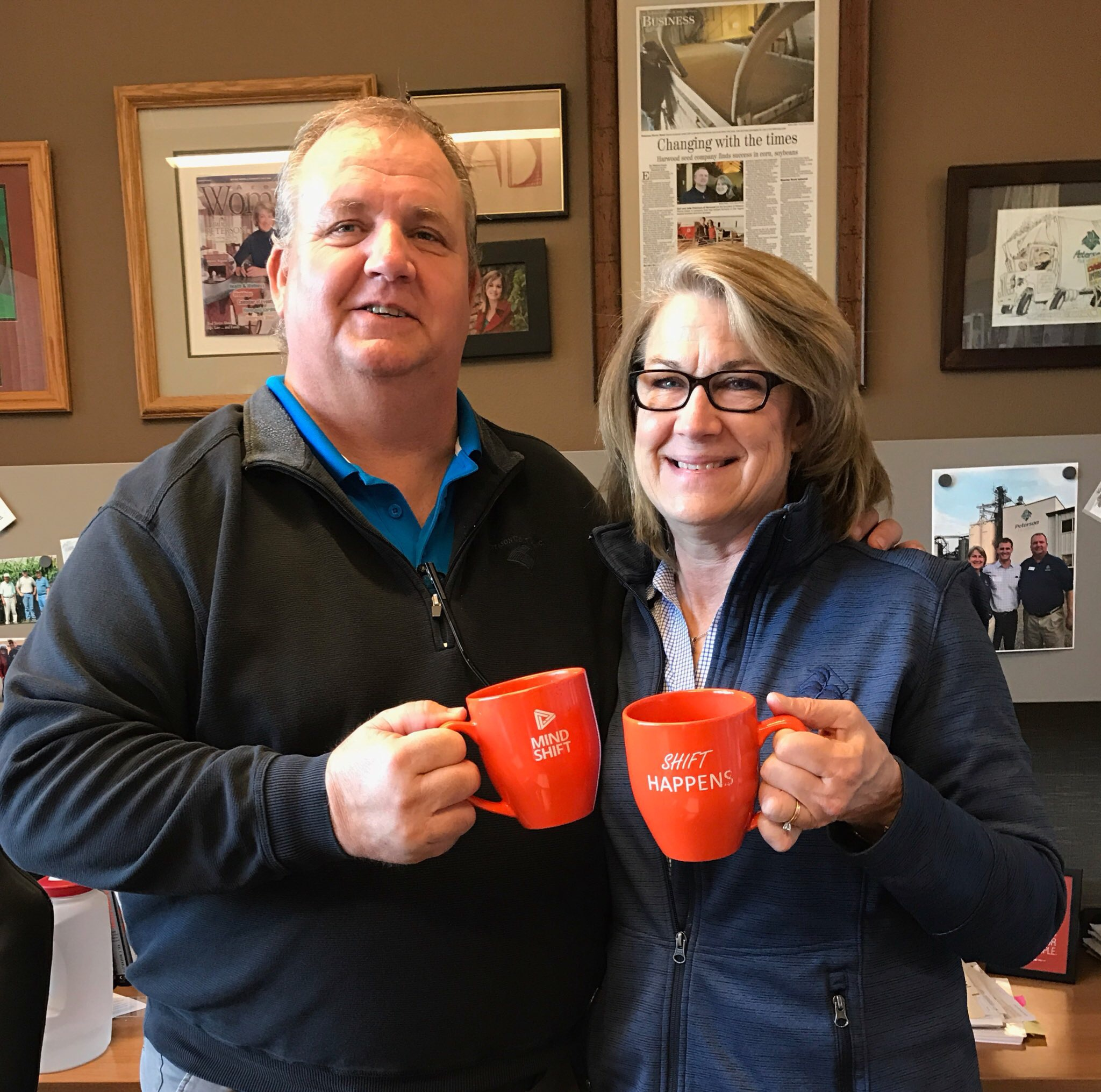 Carl and Julie Peterson's support is making shift happen. A win for the first 12 businesses that have found great employees! A win for the 22 talented people who have found great employers!