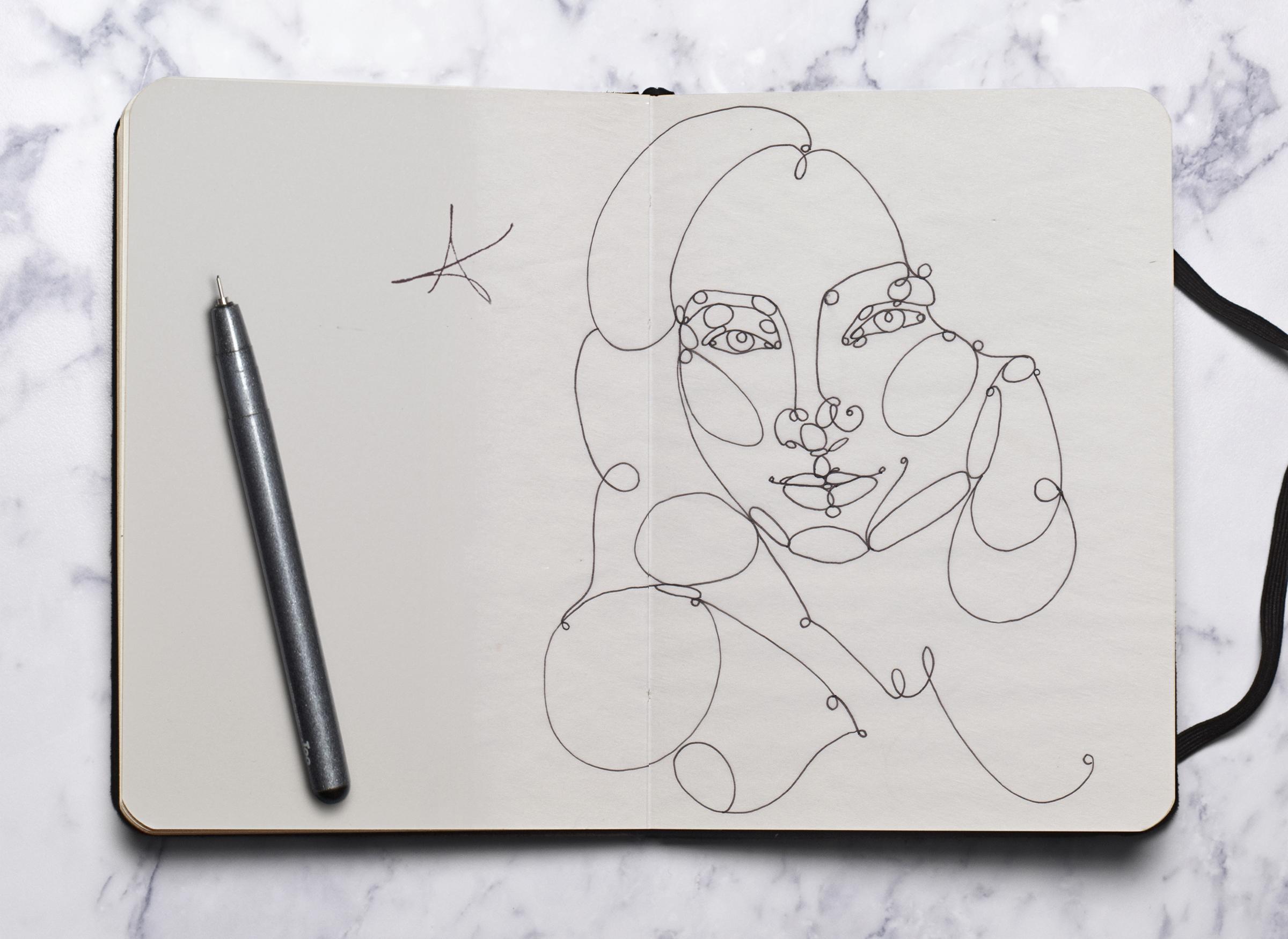 Continuous Line Portrait.jpg
