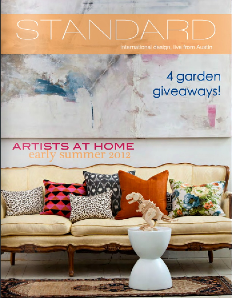 Standard Magazine, Issue 11: Artists at Home Early Summer 2012