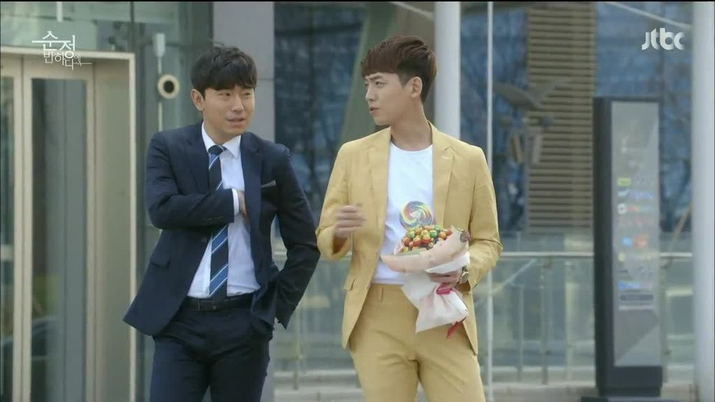 Lee Si-Eon  and  Jung Kyung Ho  in  Beating Again  // Source : JTBC