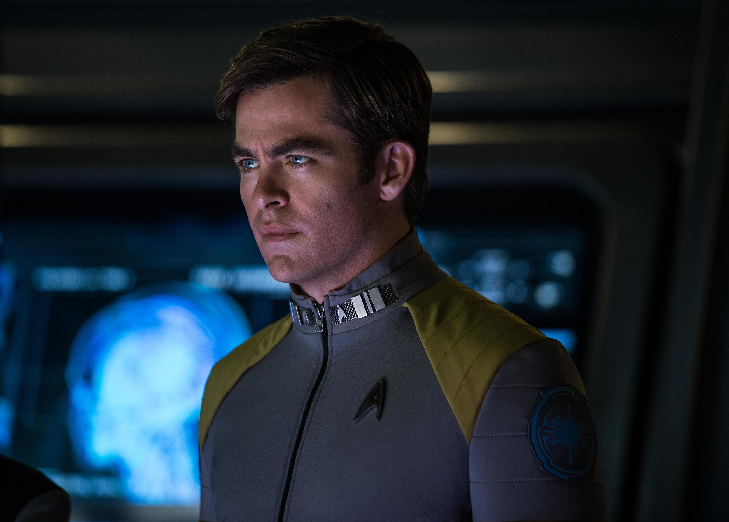 Chris Pine  as James Kirk ||   Source  :  © Paramount Pictures