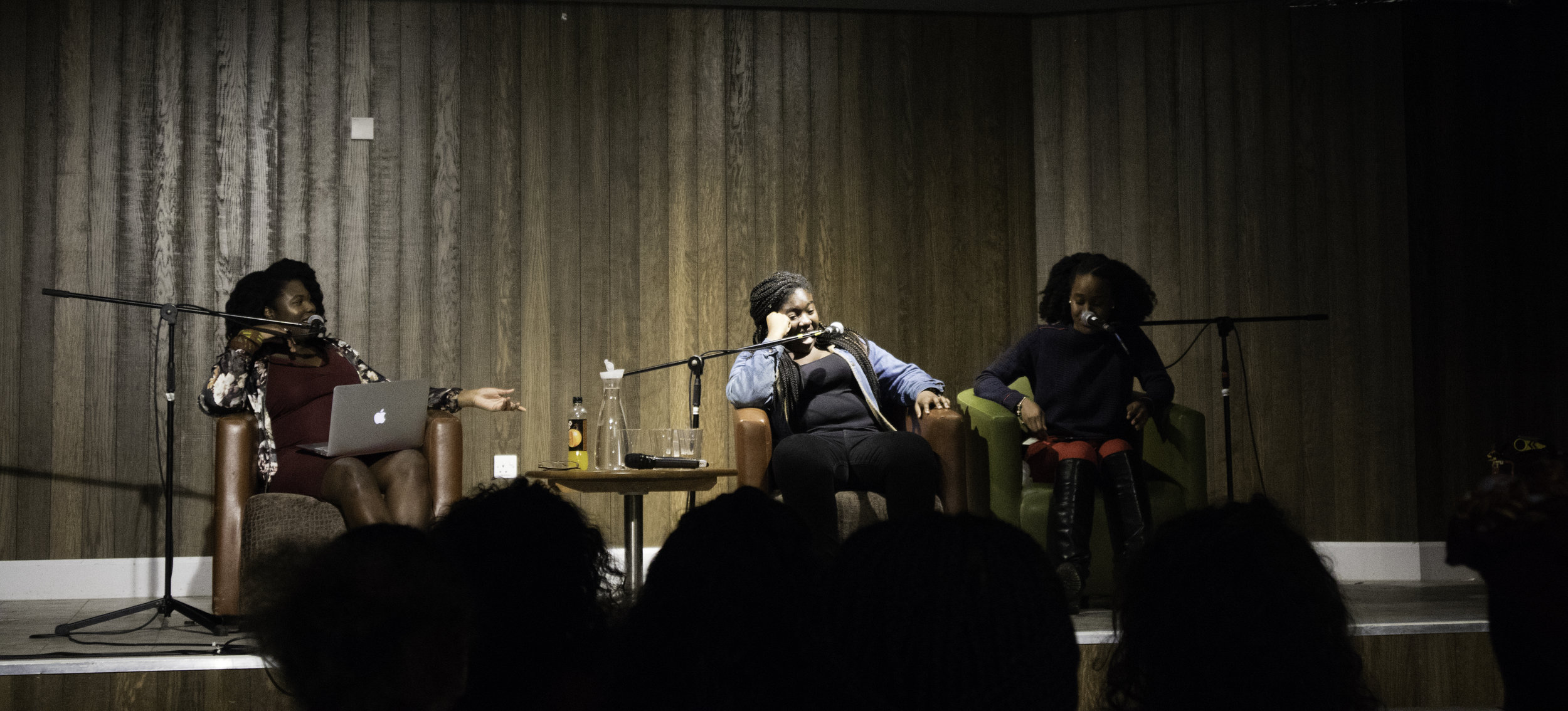 Satia  (Left) and  Imrie  (right) from   Melanin Millennials   feat. Melz Owusu