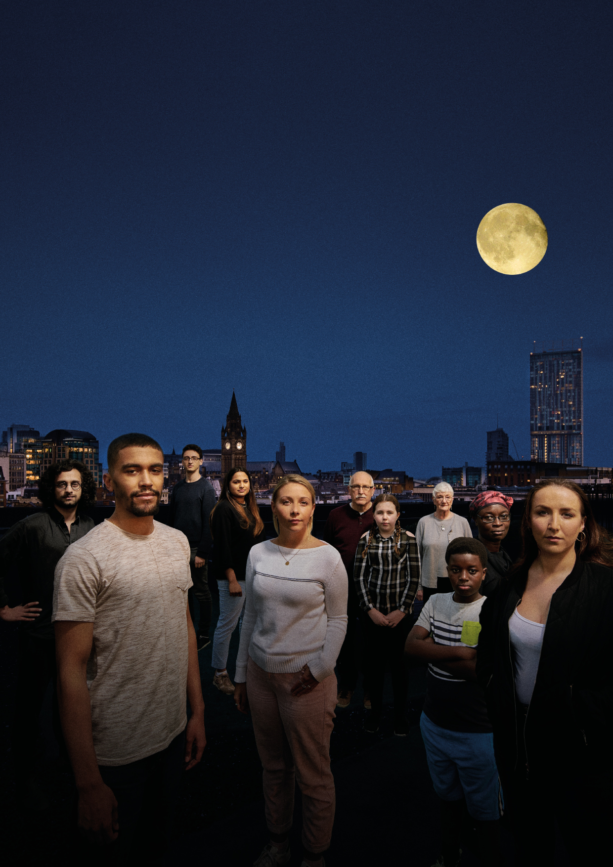 '  OUR TOWN  ' (14th Sep - 14th Oct '17) at    The Royal Exchange  //  Photo credit:   Stephen King  - courtesy of  The Royal Exchange .
