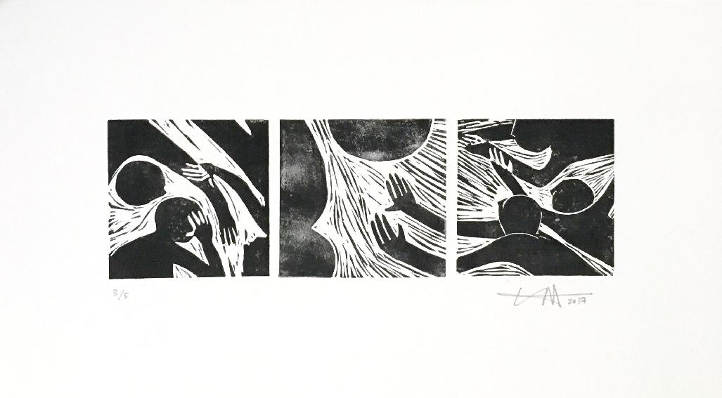 'Everyone' 52 x 26cm, 2017