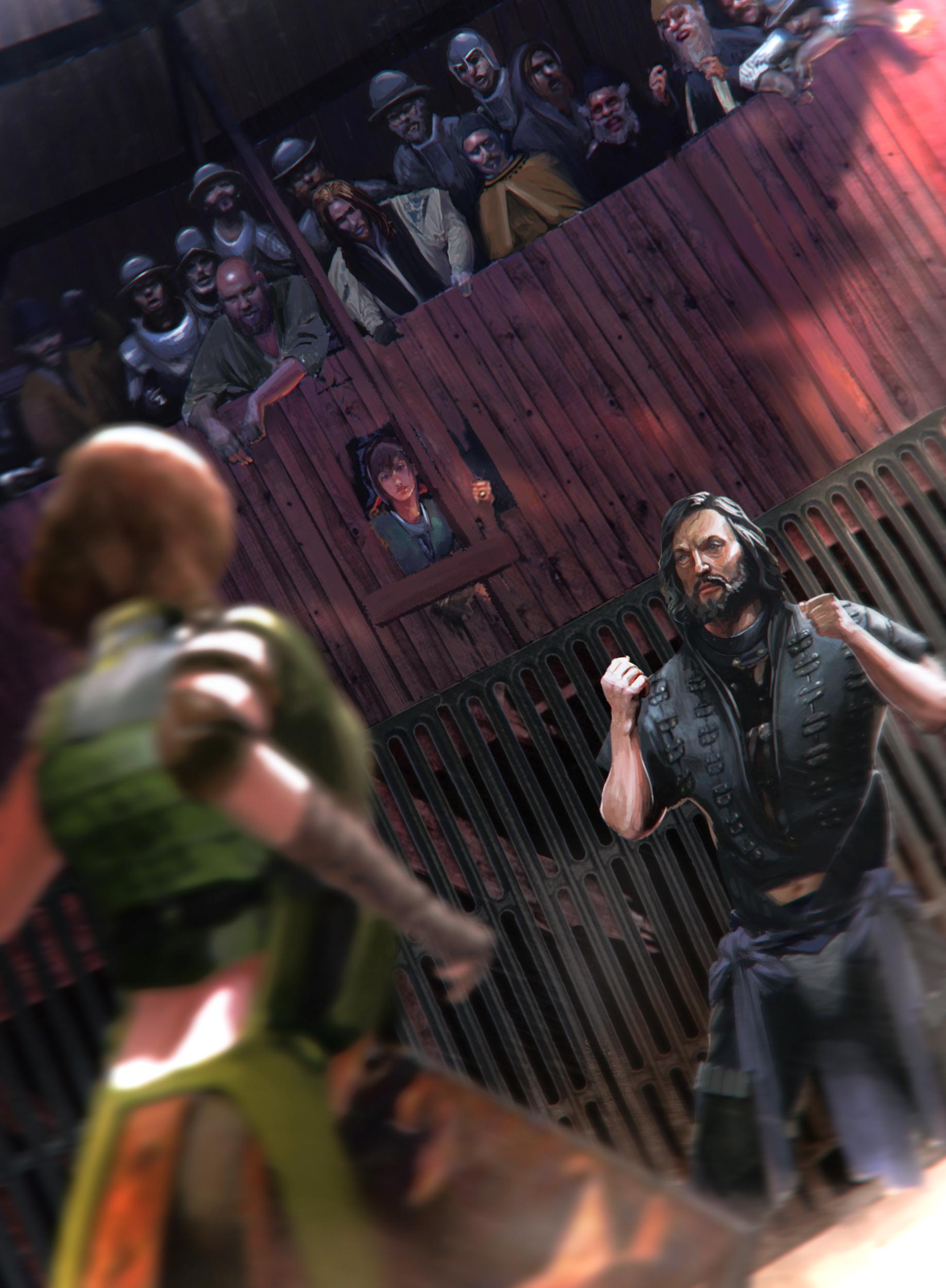 Brawler's Cage