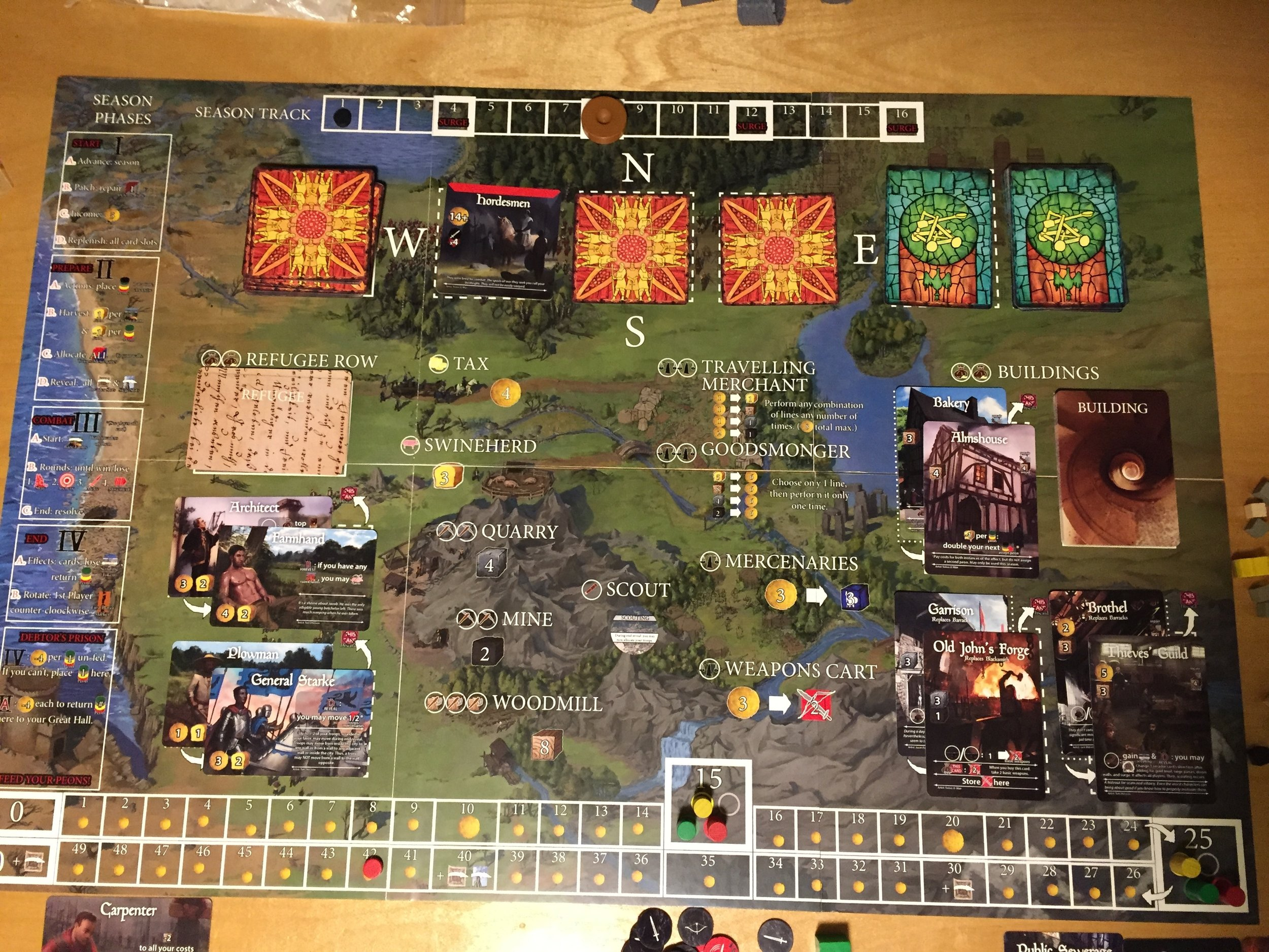 Game Board 12/15/2016