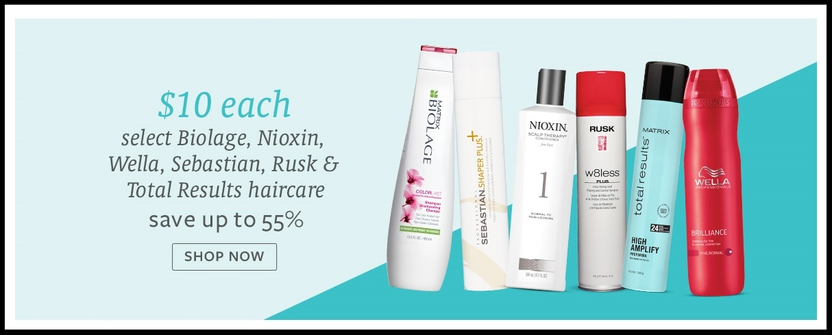 Beauty Brands  ~ $10 on Select Hair Products (Up to 55% off) + FREE Beauty Brands Sample Bag with any purchase + $3.50 off of $10 on qualifying purchase(s) with promo code: EC14118 + Free shipping with $50