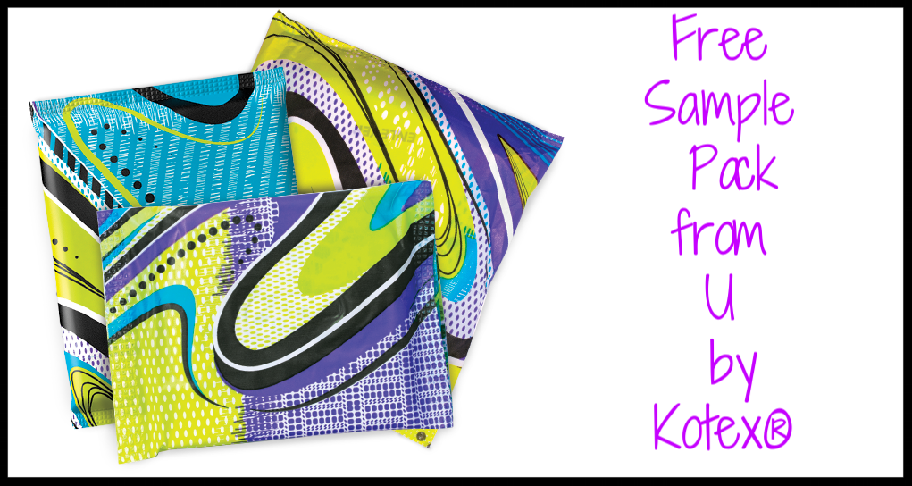 Free  Sample Pack  of tampons, pads, and liners from U by Kotex®