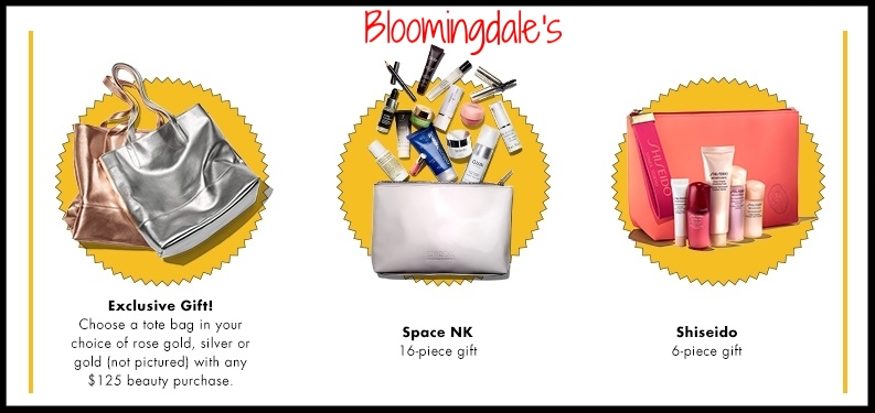 Bloomingdale's ~  Lots of Great GWP Offers  + Free shipping with $50 beauty order