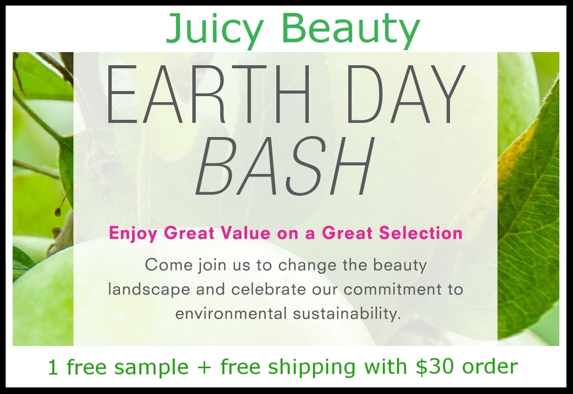 Juice Beauty  ~ Up to 50% Off of Select Products (Ends 4/22) + 1 free sample + free shipping with $30 order