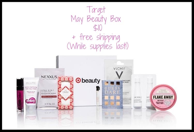 Target ~  May Beauty Box  ~ $10 + free shipping (While supplies last!)