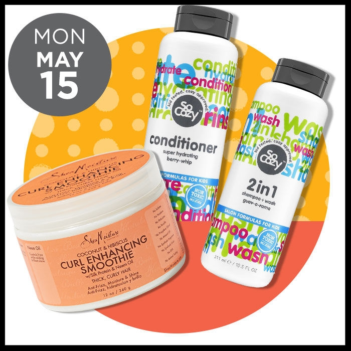 Ulta ~ The Gorgeous Hair Event ~  SHEA MOISTURE  Select Items 50% OFF + FREE Stainless Steel Water Bottle with select $20 Haircare purchase (Brand B1G1 50% off offers cannot be combined) AND   SO COZY  Cinch Collection (ONLINE ONLY) 50% OFF + FREE Stainless Steel Water Bottle with select $20 Haircare purchase (Brand B1G1 50% off offers cannot be combined)