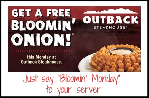 Yay! It's free Bloomin' Monday!