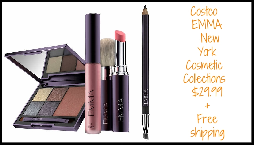 Costco  ~ EMMA New York Cosmetic Collections ~ $29.99 + Free shipping