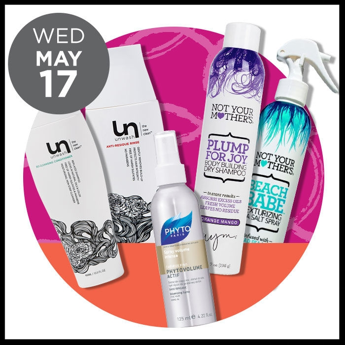 Ulta ~ The Gorgeous Hair Event ~  UNWASH  Entire brand 50% OFF ) AND  PHYTO  PhytoVolume Actif Volumizing Spray ~ 50% OFF ~ was: $30 now: $15 AND  NOT YOUR MOTHER'S  (Excludes Natural's collection & Travel) (ONLINE ONLY)  40% OFF