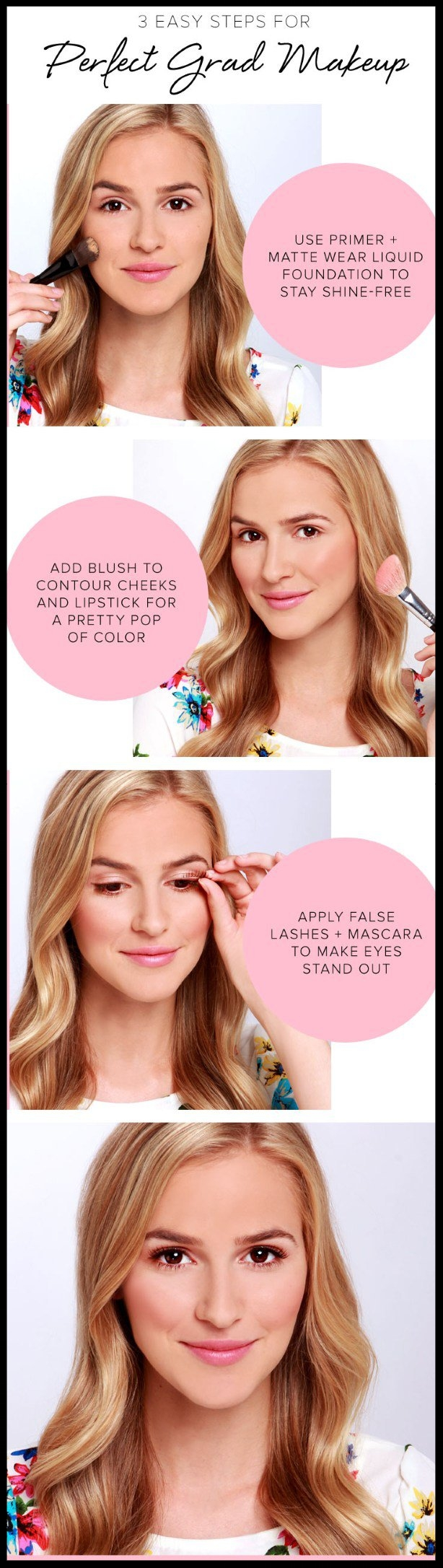 16 Graduation Makeup Tutorials You Can Wear with Confidence  by Makeup Tutorials ~ Here are some great  makeup sale items  to help you achieve the perfect Graduation look!