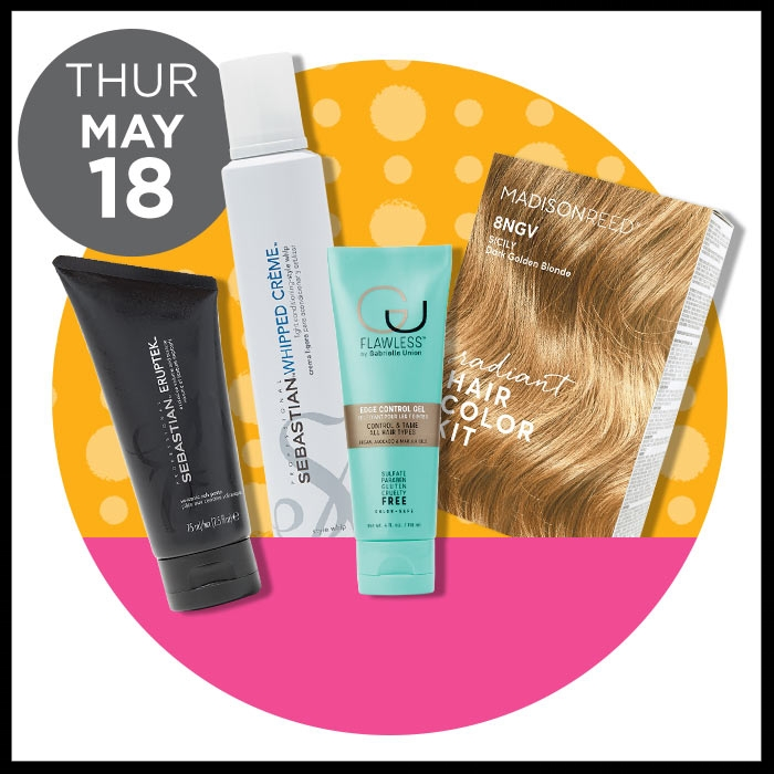 Target ~ Gorgeous Hair Event ~  SEBASTIAN  Styling (Excluding Dark Oil)  was:  $18.95-24.96 now:  $8.99 AND   FLAWLESS  Edge Control Gel ~ was: $19 now: $9.50 AND  MADISON REED  (  50% OFF ~  ONLINE ONLY) ~ Radiant Cream Color Kits was: $25.00 now $12.50