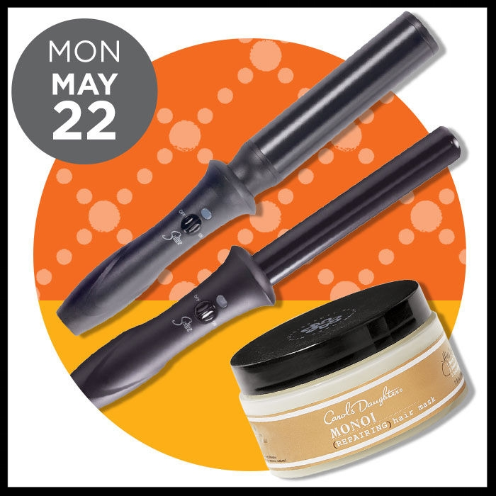 Ulta ~ The Gorgeous Hair Event ~  CAROL'S DAUGHTER  Monoi Mask ( 50% OFF)  / was: $32 now: $16 + FREE Monoi Mask 4 oz. with any $35 Carol's Daughter purchase + FREE Stainless Steel Water Bottle with select $20 Haircare purchase AND  SULTRA  Wands (ONLINE ONLY ~  50% OFF) was: $130  now: $65