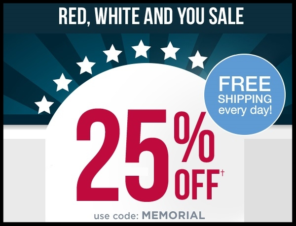 Shoe Mall  ~ 25 % Off with promo code: MEMORIAL (Exclusions apply ~ Ends 5/30 at 11:59 p.m. CST) + Free shipping
