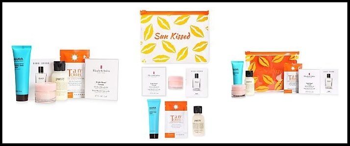 Macy's  ~ 7-Piece Summer Beauty Sampler Gift Set ~ $15 ($31 value ~ only at Macy's ~ while supplies last!) + Free shipping and returns on any beauty order