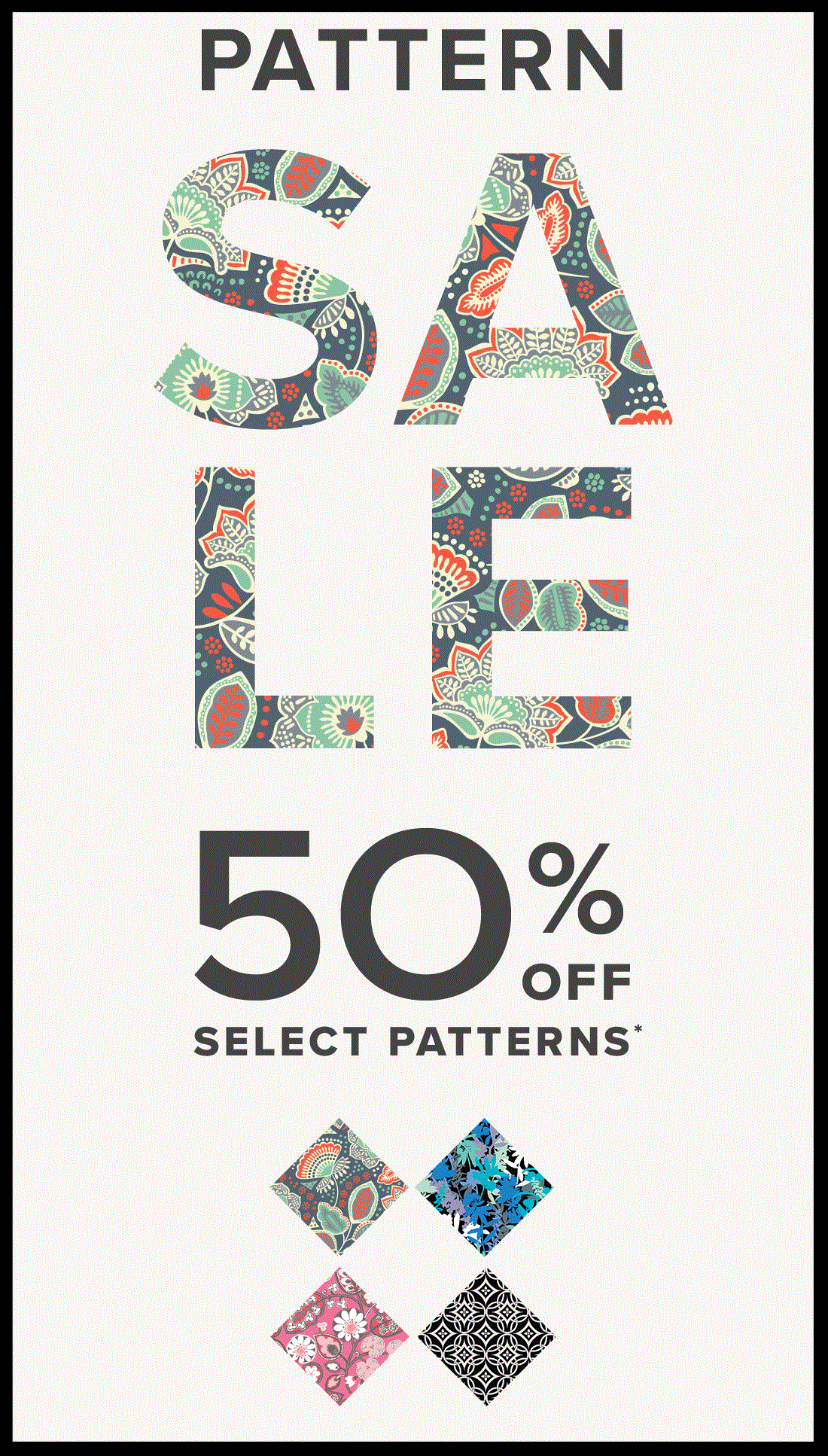 Vera Bradley  ~ 50% Off Select Patterns (Ends 6/14) + Free shipping with $75 order