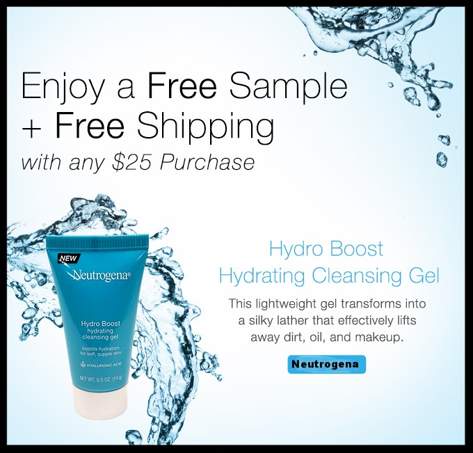Neutrogena  ~ Free deluxe sample and free shipping with $25 order