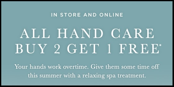 Crabtree & Evelyn  ~ Buy 2, Get 1 Free on Hand Care (Regular $8 - $32 each ~ Offer excludes gift sets ~ Ends 8/6) + Free shipping with $75 order