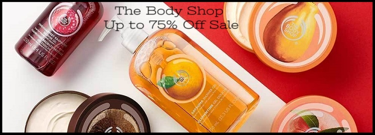 The Body Shop ~  Up to 75% Off Sale (Ends 6/9) + $5 off of $50 with promo code: RMN5off50june+ Free shipping with $50 order