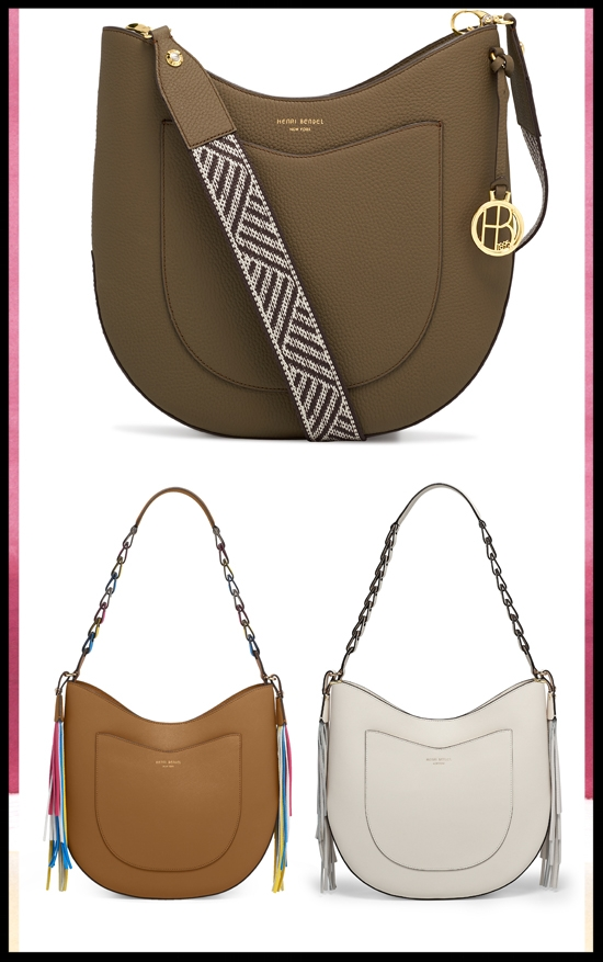 Henri Bendel  ~ Best-Selling West 57th Hobo Bag ~ 50% Off ~ was: $278 - $750 - now: $139 - $375 + Plus Free Shipping, Monogramming, Embroidery, and Gift Wrapping on all orders
