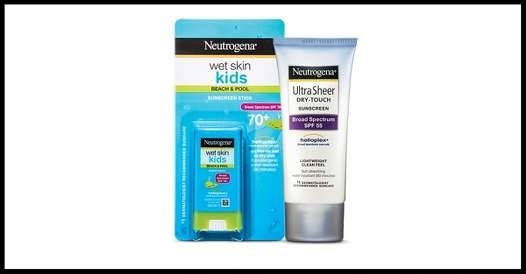 Target ~  Neutrogena and Aveeno  ~ Buy 1, get 1 25% off select Neutrogena and Aveeno sun care items + Buy 3 first aid items (2 Neutrogena Wet Skin Kids Products qualify) and choose a free first aid kit bag free + Free shipping with $35 order