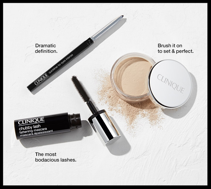 Clinique  ~ Free 3-Piece Gift with $40 purchase with promo code: GLAM (Ens 7/8 at 11:59pm PT) + Free shipping with $50 order or free shipping for  Smart Rewards Members  (It's free to join)