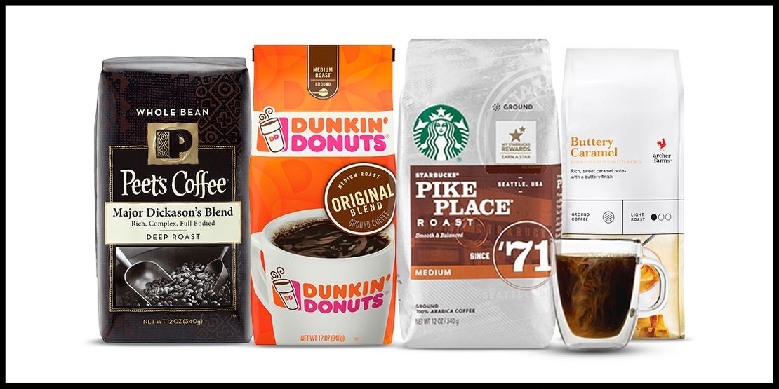 Target  ~Buy 1, get 1 50% off select 10 - 12oz ground or whole bean bagged coffee items (Ends 7/22 at 11:59PM PT) + Free shipping with $35 order
