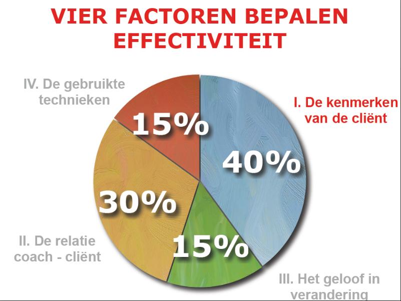 vier factoren bepalen effectiviteit