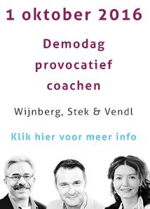Demonstratiedag Provocatief Coachen.